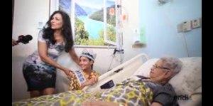 Stephanie del Valle lleva aliento a los enfermos
