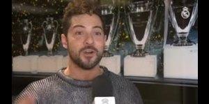 David Bisbal visitó la Ciudad Real Madrid