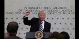 Trump niega tensión con agencias de inteligencia