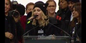 """Madonna ofrece mensaje de empoderamiento en la """"Marcha de las Mujeres"""""""