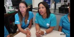 Jóvenes boricuas ayudan a conservar la salud de los mamíferos marinos