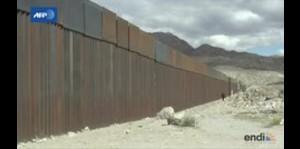 Imágenes del muro entre EE.UU. y México