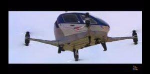 Dubai prueba un taxi aéreo sin piloto