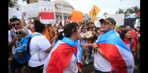 Llegan los estudiantes de la UPR al Capitolio