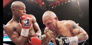 Las cinco peleas más complicadas de la carrera de Mayweather