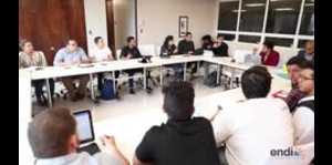 Lideres estudiantiles se reúnen para analizar estrategias
