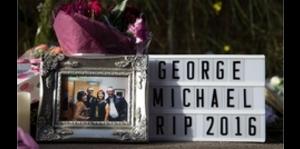 Dan el último adiós a George Michael