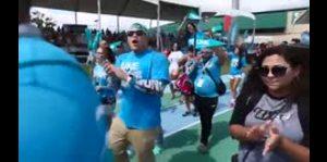 Recintos de la UPR muestran su apoyo a la huelga durante las Justas