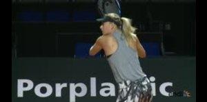 El polémico regreso de Sharapova a las canchas