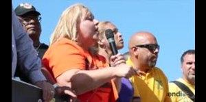 Una líder sindical asegura que continuarán la lucha en la...
