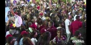 Los partidarios de Maduro celebran su reelección en Venez...