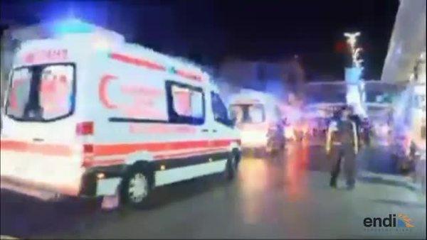 Estremecedor video tras ataque en aeropuerto...