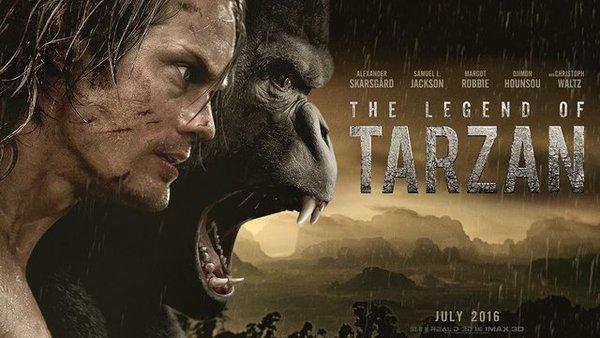 """Tráiler de """"The Legend of Tarzan"""""""