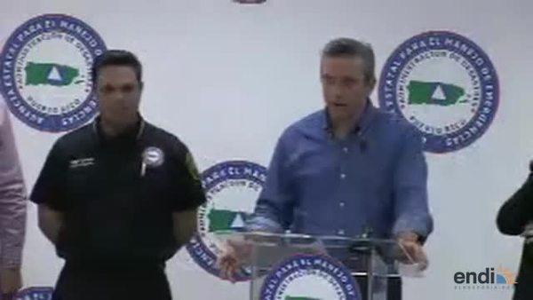 García Padilla informa al País sobre el cola...