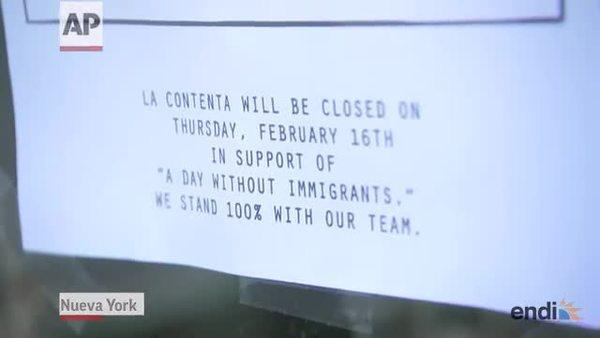 Siguen las protestas de los días sin inmigra...