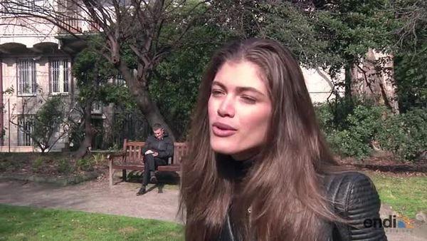 Valentina Sampaio, primera transgénero en po...