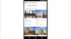 Google te ayuda a planificar tus vacaciones
