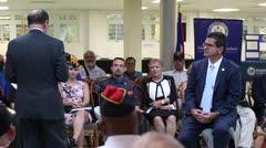 Secretario de Asuntos del Veterano conversa con excombatientes boricuas
