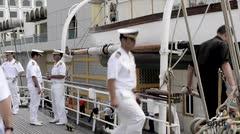 Visita del Buque de la Escuela de la Armada de España