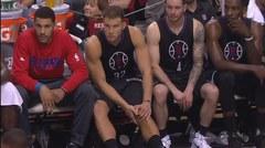 Blake Griffin sale del juego por una lesión