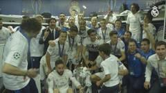 Real Madrid celebra su undécima corona de Europa