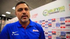 Eddie Casiano se conmueve al hablar de Carlos Arroyo