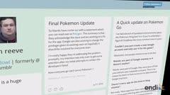 Fenómeno mundial Pokemon Go
