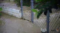 Afectados en el barrio Mosquito por las inundaciones