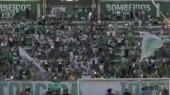 Aplausos, gritos, música y ruido en nombre del Atlético Chapecoense