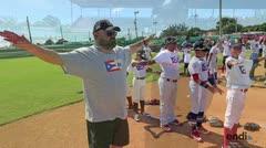 Niños demuestran su pasión por el béisbol