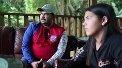 Adriana Díaz le dedica su carrera a su padre