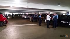 La policía investiga el tiroteo en Plaza Las Américas