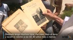 La abuela argentina que busca el campeonato mundial de tenis