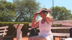 Abuela argentina sueña con ser campeona mundial de tenis
