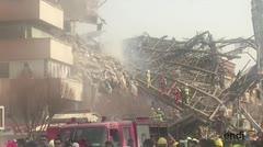 Más de 20 bomberos muertos por el derrumbe de un edificio en Teherán