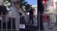 Arrestan a estatua viviente en el Viejo San Juan