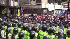 Oposición venezolana retomó la calle para exigir elecciones