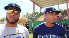 Robinson Canó participa de clínicas de béisbol en Naguabo