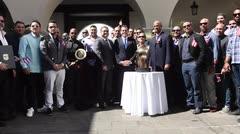 Gobernador recibe a los campeones de Puerto Rico
