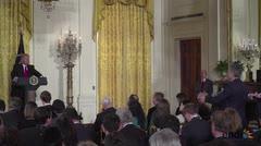 Trump nomina a primer hispano a su gabinete y aprovecha para insultar a la prensa