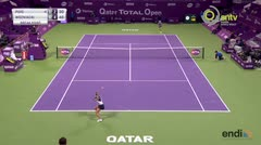 Puig cae en semifinales ante Wozniacki en Catar
