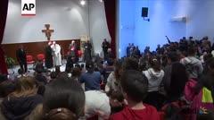 El papa Francisco dice que no fue elegido por ser el más inteligente
