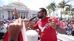 Los universitarios marchan hasta La Fortaleza