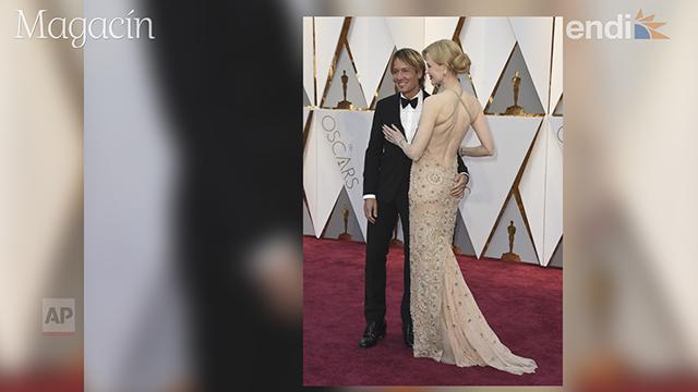 Parejas que deslumbraron en la alfombra roja de los Oscar