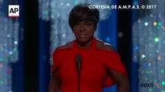 Emocionante mensaje de Viola Davis tras ganar su Oscar