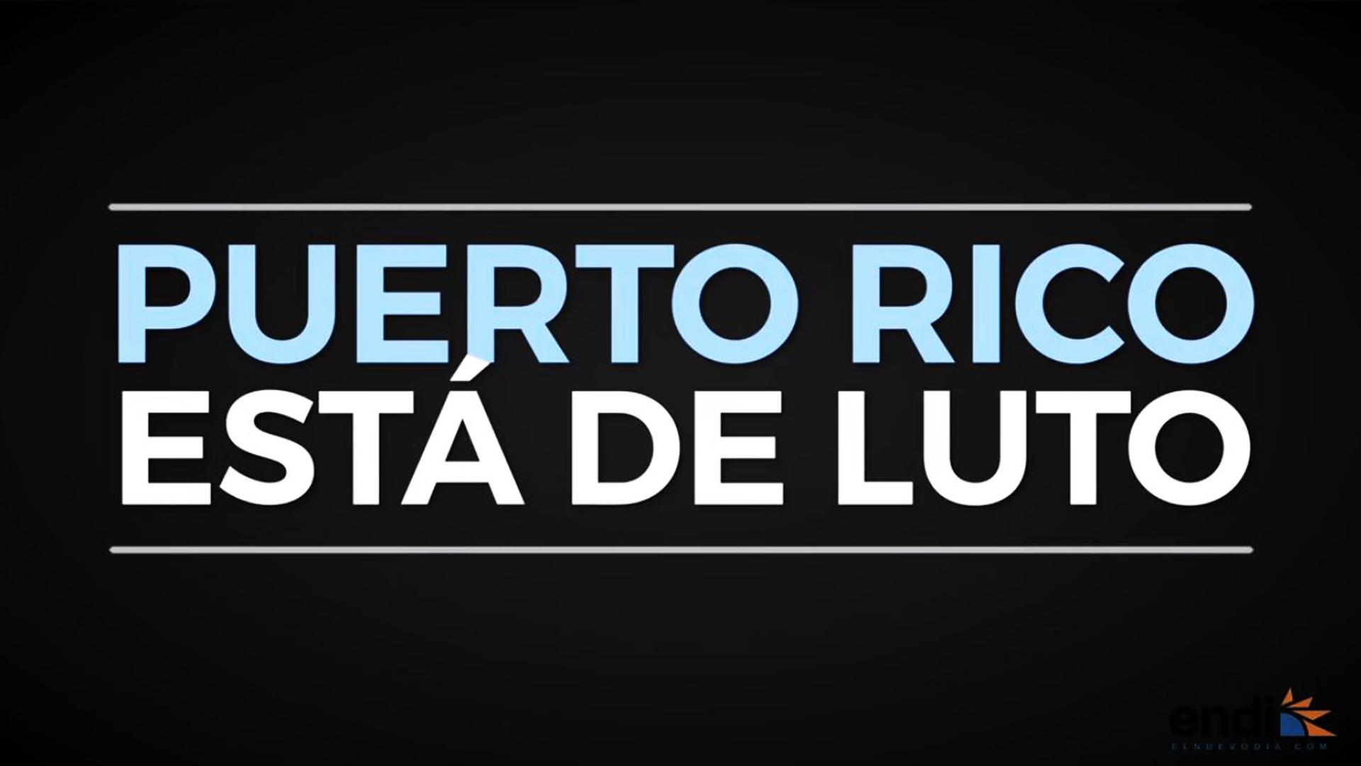 Puerto Rico está de luto