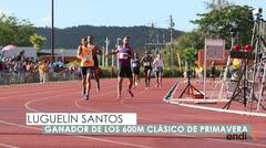 Luguelín Santos ganó el Clásico de 600 metros Herminio Isaac