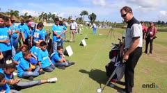 Clínicas de golf como parte del Puerto Rico Open