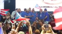 El Equipo Nacional festeja en el Centro de Convenciones de Puerto Rico