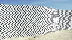 Una galería de arte en el desierto